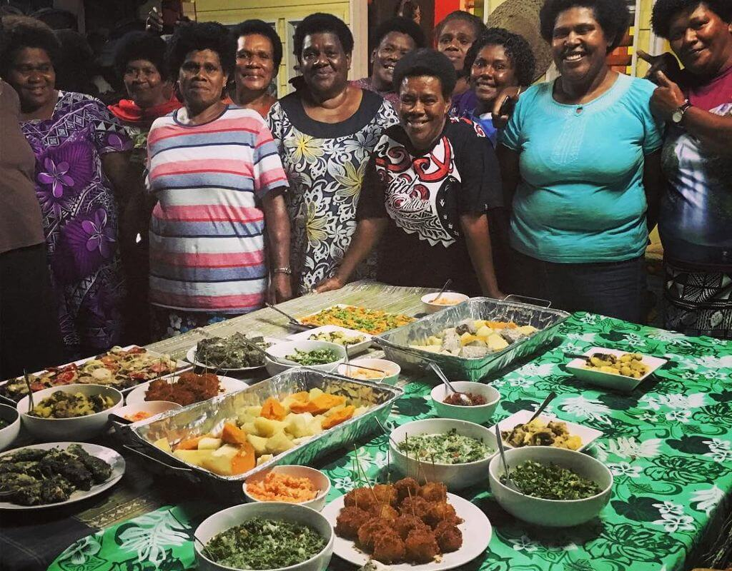 From 18-20 October, thirteen women from Talanoa Treks' four partner communities came together to share their recipes, learn, cook, and, very importantly – share in the eating of some fine local kana!