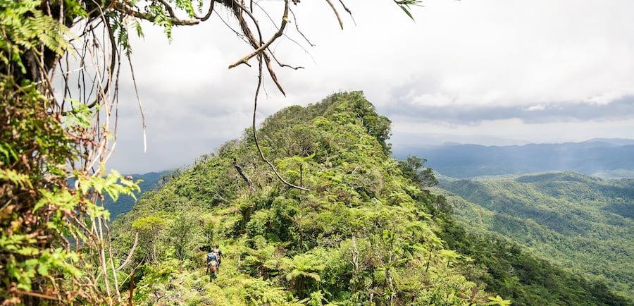 Tomaniivi ridge