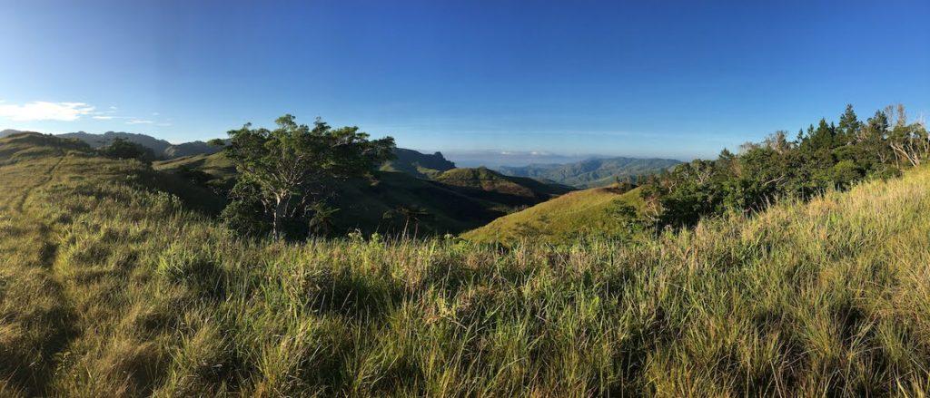 Grasslands above Naga