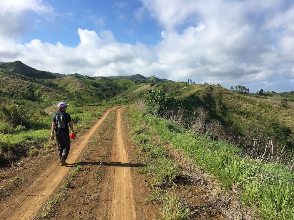 Yalavou to the coast -the final stretch