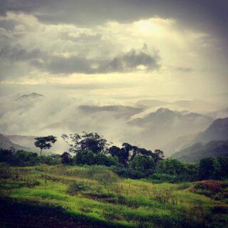 Clouds clearing in the hills around Naga village after an afternoon rain shower.  #talanoatreks #hiking #hikingadventures #hikingfiji #trekking #trekkingfiji #tramping #trampingfiji #fiji #hiddenfiji #aftertherain